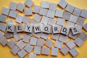 Spread out your keywords